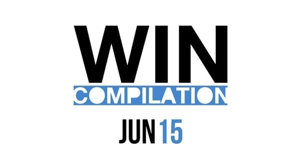 Win-Compilation im Juni 2015