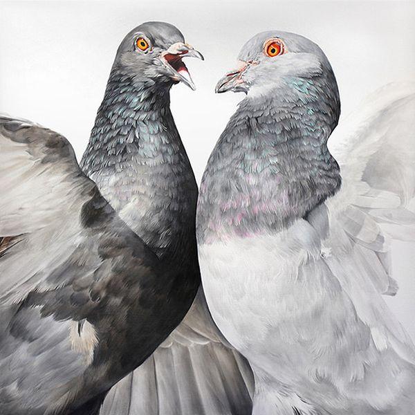 Adele Renault und ihre Tauben | Design/Kunst | Was is hier eigentlich los? | wihel.de