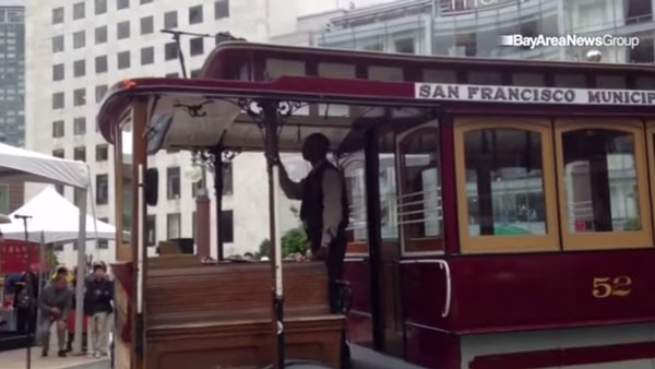 Der Cable Car Bell Ringing-Contest in San Francisco