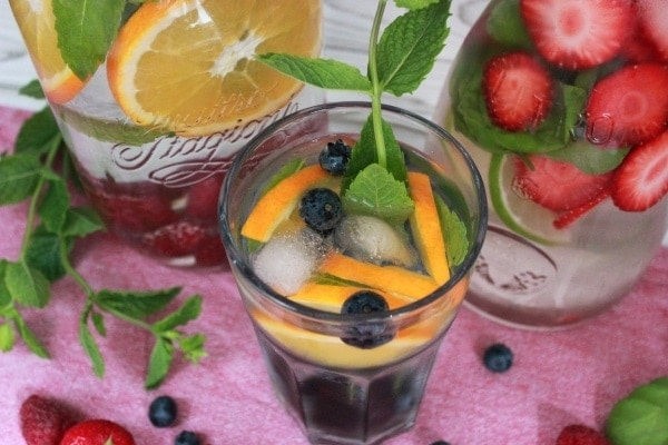 Infused_Water - Blaubeere