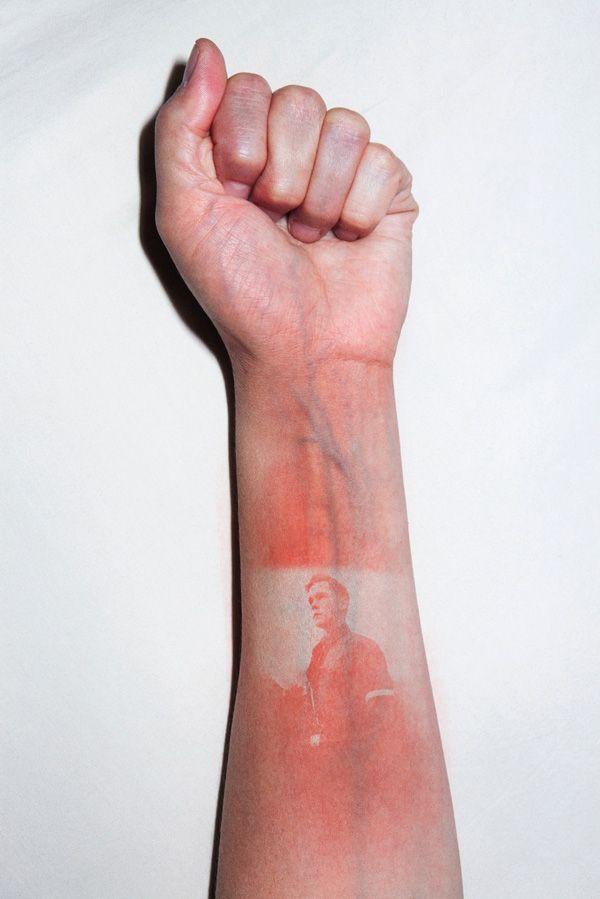 Kunst mit Sonnenbrand | Design/Kunst | Was is hier eigentlich los? | wihel.de