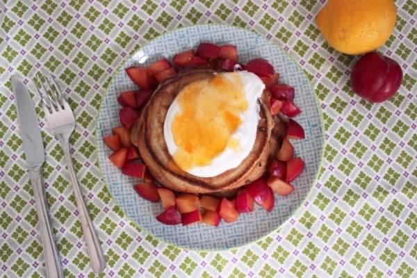 Line backt: Zitronen-Buttermilch-Pancakes | Line backt | Was is hier eigentlich los?