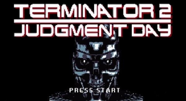 Terminator 2 in der 8-Bit-Version