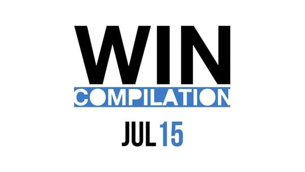 Win-Compilation im Juli 2015