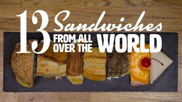 13 Sandwiches aus aller Welt | Essen und Trinken | Was is hier eigentlich los?