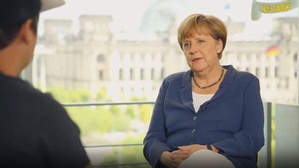 Das wahre Interview von Merkel und LeFloid | Lustiges | Was is hier eigentlich los?