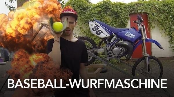 Die Ballwurfmaschine von Fynn Kliemann | Handwerk | Was is hier eigentlich los? | wihel.de