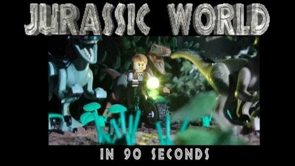 Jurassic World in 90 Sekunden UND LEGO | Animation | Was is hier eigentlich los? | wihel.de