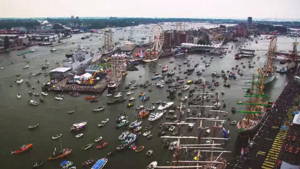 Timelapse von der SAIL 2015 in Amsterdam | Timelapse | Was is hier eigentlich los?