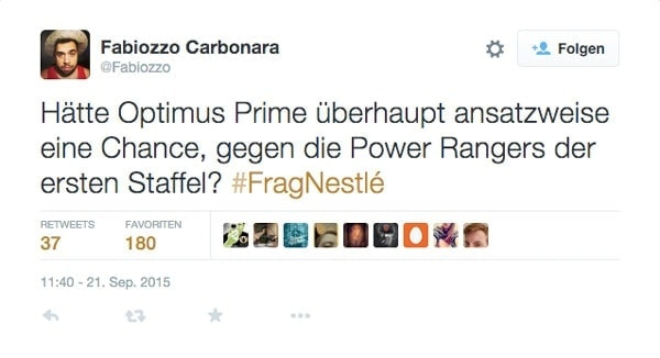 Die besten Fragen zu #FragNestlé