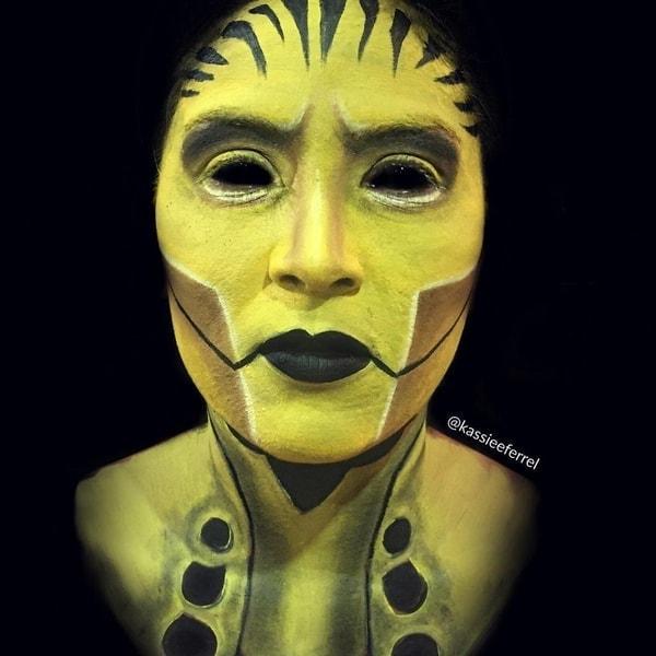 Halloween-Make-Up von Kassandra Ferrel | Mädchenkram | Was is hier eigentlich los?