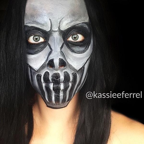Halloween-Make-Up von Kassandra Ferrel | Mädchenkram | Was is hier eigentlich los? | wihel.de