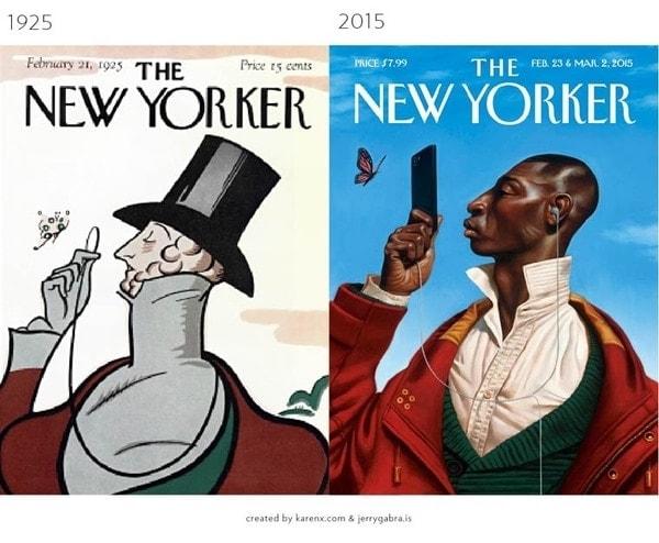 @ Respective publications / Comparison by Karen X. Cheng and Jerry Gabra