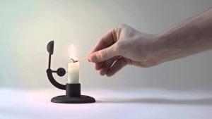 Nur eine Kerze, die sich selbst löscht | Gadgets | Was is hier eigentlich los? | wihel.de