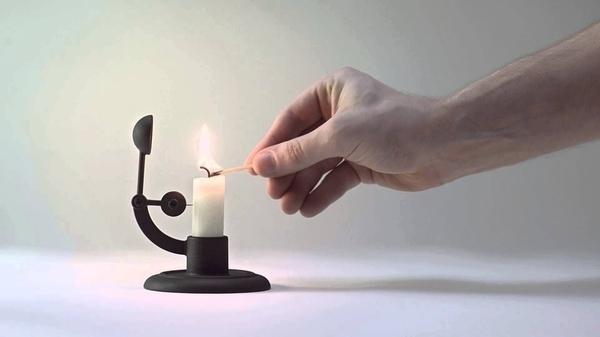 Nur eine Kerze, die sich selbst löscht | Gadgets | Was is hier eigentlich los?