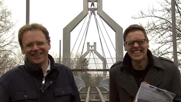 Nur in Deutschland möglich: eine Brücke ohne Boden | WTF | Was is hier eigentlich los?