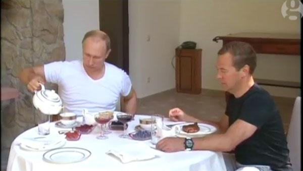 Sonntags bei Putins | Geschichten aus'm Alltag | Was is hier eigentlich los? | wihel.de