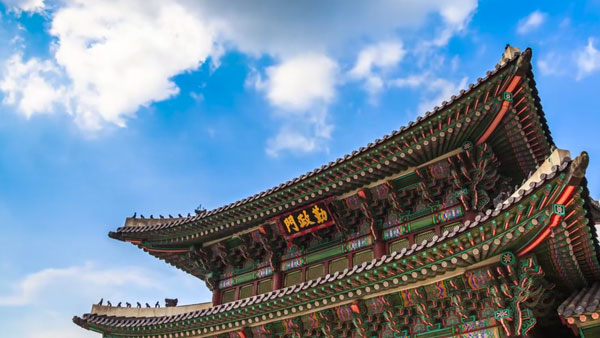 Timelapse: Beautiful South Korea Landscape