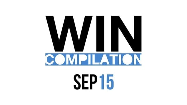 Win-Compilation im September 2015