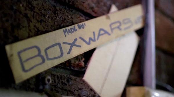 Boxwars: Wellpappe-Schlachten aus recyceltem Papier
