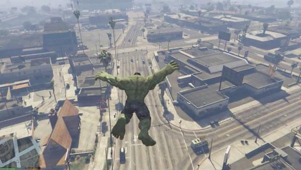 Der Hulk-Mod für GTA 5 |  | Was is hier eigentlich los? | wihel.de