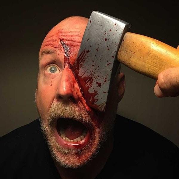 Extrem realistisches Grusel-Make-Up von Marc Clancy | WTF | Was is hier eigentlich los?