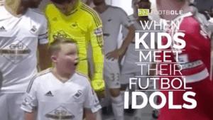Kinder neben ihren Fußballstars | Awesome | Was is hier eigentlich los? | wihel.de