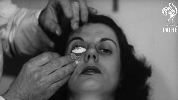Kontaktlinsen von 1948 | Zeitgeschichte | Was is hier eigentlich los?