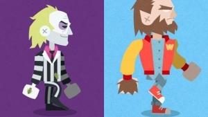 Kultige Kult-Grusel-Monster verGIFtet - 31 Horror Days! von Simon Lagneau und Rogé Rogé | Design/Kunst | Was is hier eigentlich los? | wihel.de