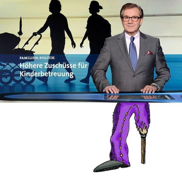 Untenrum nackt? Unterhalb der Gürtellinie der Tagesschausprecher #dieganzeWahrheit | Kino/TV | Was is hier eigentlich los? | wihel.de