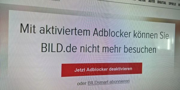 Was es mit der Bild und dem ganzen Adblock-Tüdelü auf sich hat | Awesome | Was is hier eigentlich los? | wihel.de
