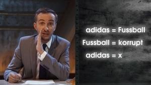 Böhmermann deckt auf: Was adidas mit Fußball zu tun hat | Awesome | Was is hier eigentlich los? | wihel.de