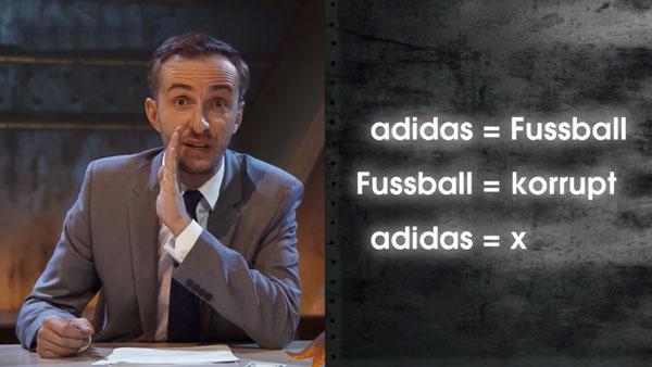 Böhmermann deckt auf: Was adidas mit Fußball zu tun hat | Awesome | Was is hier eigentlich los?
