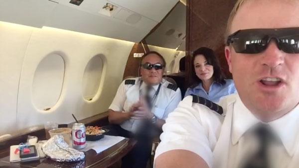 Das langweilige Leben eines Privat-Jet-Piloten