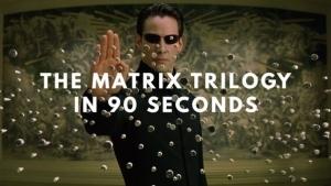 Die Matrix-Trilogy in 90 Sekunden | Kino/TV | Was is hier eigentlich los? | wihel.de