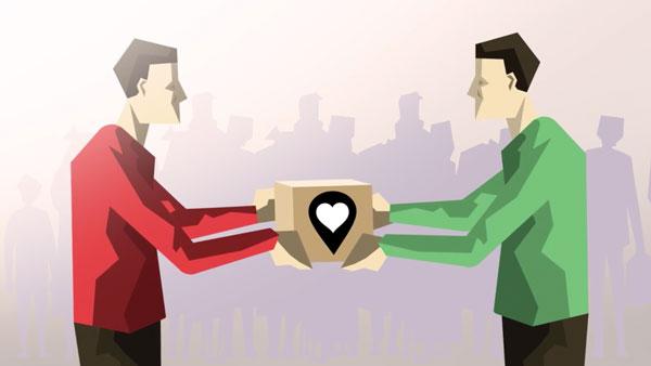 Help Here - Eine Online-Plattform für Bedürftige und Helfende