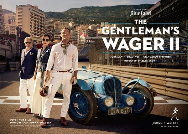Johnnie Walker Blue Label presents – The Gentlemen's Wager 2 #sponsored | sponsored Posts | Was is hier eigentlich los?