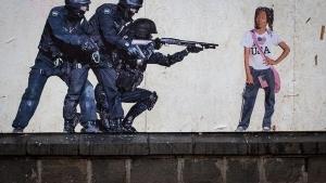 Satirische Street Art von Caiozzama | Design/Kunst | Was is hier eigentlich los? | wihel.de