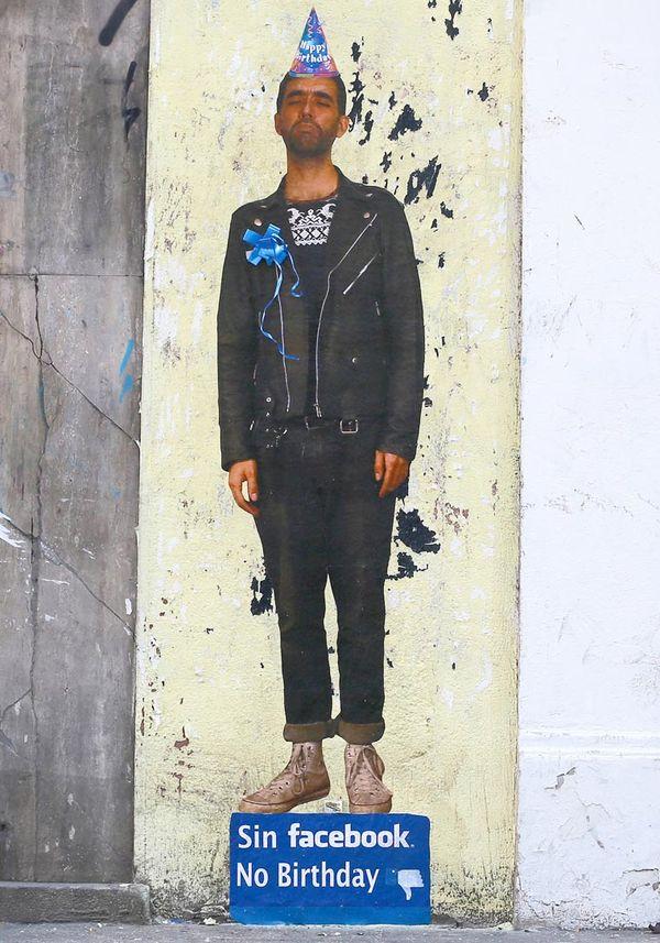 Satirische Street Art von Caiozzama
