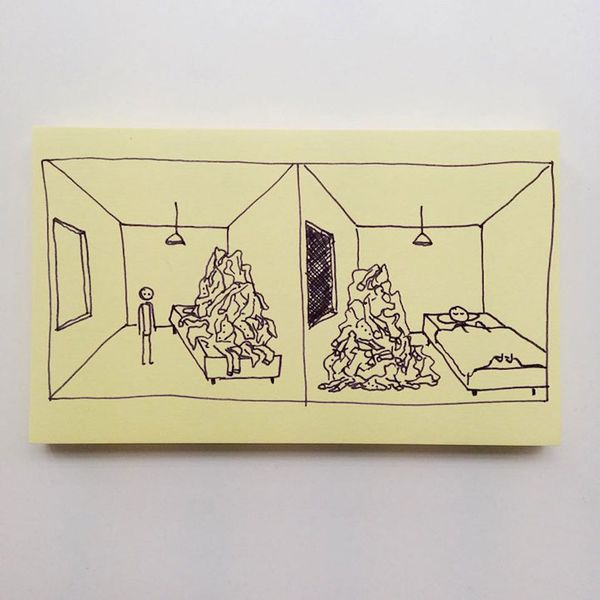 Schlaue Post-Its von Chaz Hutton | Awesome | Was is hier eigentlich los? | wihel.de