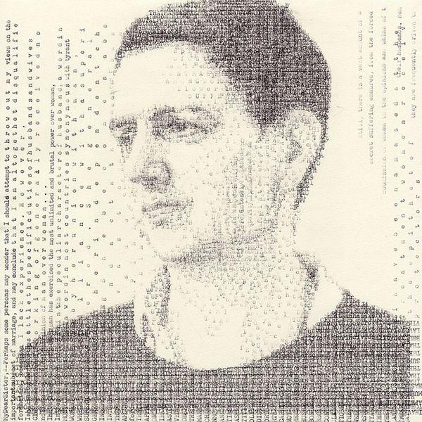 Schreibmaschinenkunst von  Leslie Nichols | Design/Kunst | Was is hier eigentlich los? | wihel.de