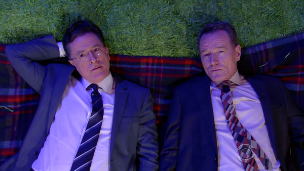 Stephen Colbert, Bryan Cranston und die Fragen der Welt | Lustiges | Was is hier eigentlich los? | wihel.de