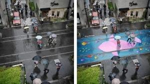 Straßen, die bei Regen bunt werden | Gadgets | Was is hier eigentlich los? | wihel.de