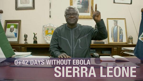 Wie Sierra Leone die Ebola-Freiheit feiert