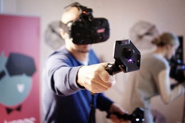 Zu Besuch bei den VR-Nerds: VR-Event LVL UP