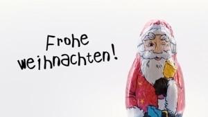 Der sprechende Plakatwandweihnachtsmann #sponsored