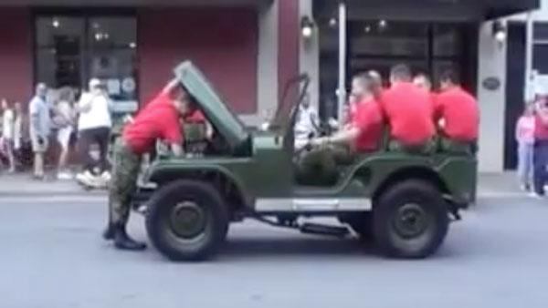 Die Playmobil-Jeeps der USA