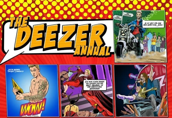 Gewinnspiel: Deezer & Die Superhelden des Musikjahres 2015 | sponsored Posts | Was is hier eigentlich los? | wihel.de
