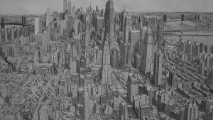 Stefan Bleekrode malt komplette Städte aus seinem Gedächtnis | Design/Kunst | Was is hier eigentlich los? | wihel.de
