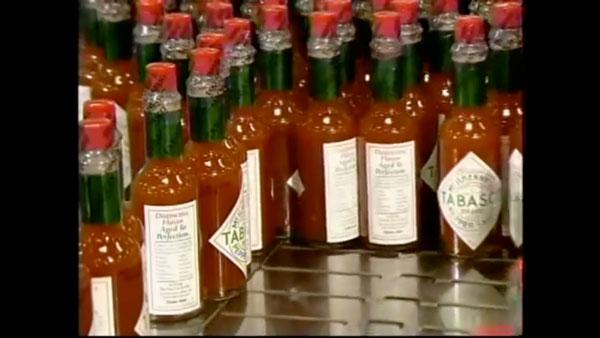 Wie Tabasco-Sauce hergestellt wird